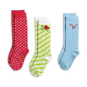 Merry Sock Set for Girls