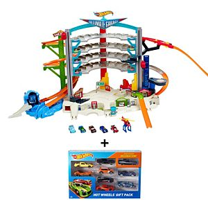 SPECIAL OFFER! Hot Wheels® Ultimate Garage™ & Bonus 9-Car Gift Set