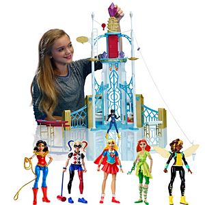DC Super Hero Girls™ Playset + Action Figures