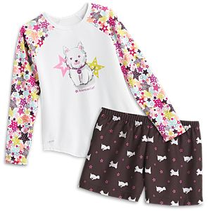 Coconut PJs for Girls