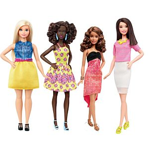 Barbie® Fashionistas® Color Splash Doll Set