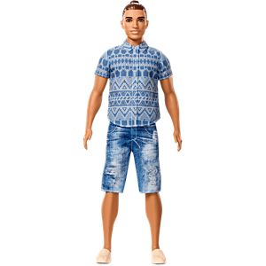 Ken® Fashionistas® Doll 13 Distressed Denim - Broad