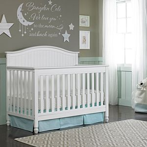 The Del Mar Convertible Crib with Just the Right Height™ Feature