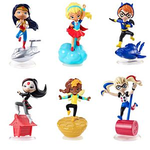 DC Super Hero Girls™ Mini Figures 6-Pack Gift Set