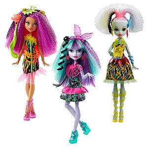 Monster High® Electrified Monstrous Hair Ghouls™ Dolls Gift Set