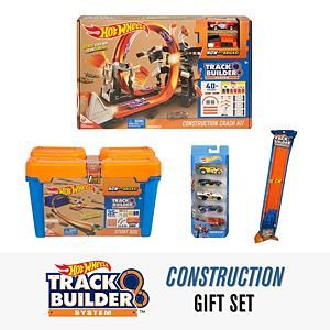 Hot Wheels® Track Builder Construction Gift Set
