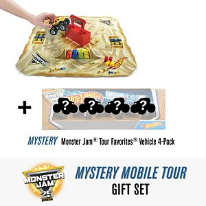 Hot Wheels® Monster Jam Mystery Mobile Tour Gift Set
