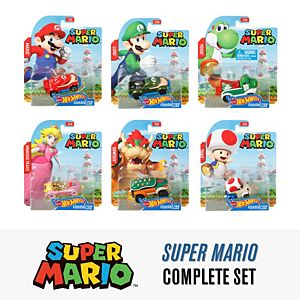 Hot Wheels® Super Mario Bros™ - Complete Set