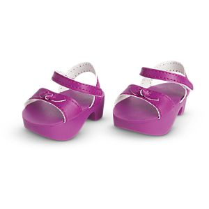 Purple Platform Shoes