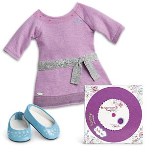 Lilac Dress & Truly Me Activity for 18-inch Dolls