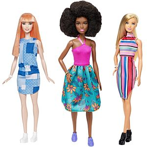 Barbie® Fashionistas® Original Doll 3-Pack Gift Set
