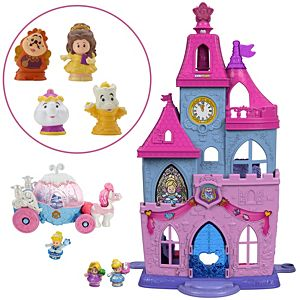 Disney Princess Magical Wand Palace Gift Set by Little People®