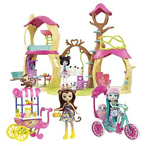 Enchantimals™ Playhouse Panda + Animal Friends Gift Set