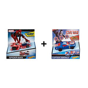 Hot Wheels® Marvel™ BIG Action Gift Set