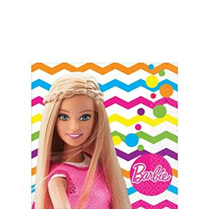 Barbie Beverage Napkins 16ct