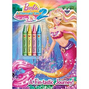 A Fin-Tastic Journey! ( Barbie in A Mermaid Tale 2) (Paperback) by Mary Man-Kong