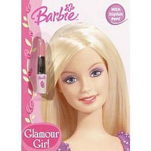Barbie Glamour Girl ( Color Plus Lipstick Pen) (Paperback)