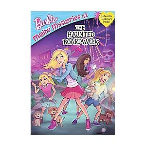 The Haunted Boardwalk ( Barbie Sisters Mystery Club) (Collectors) (Mixed media product)