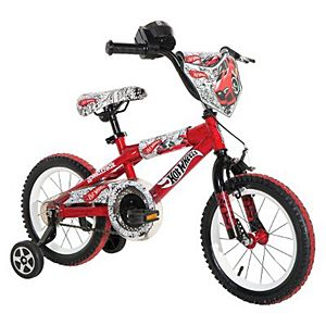 "Boy's Hot Wheels Bike - Red (14"")"