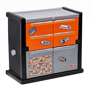 Step2 Company Hot Wheels Race Car Dresser - Multicolored