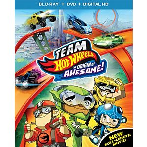 Team Hot Wheels: The Origin of Awesome! [Includes Digital Copy] [UltraViolet] [Blu-ray/DVD]