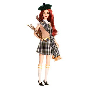 <em>Scotland</em> Barbie&#174; Doll