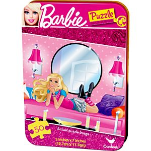 Barbie Puzzle Tin 50pc