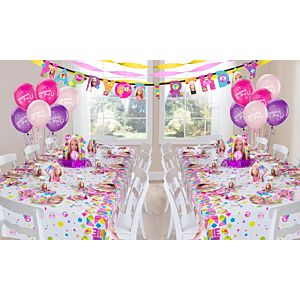 Barbie Party Supplies Deluxe Party Kit for 16 Guests