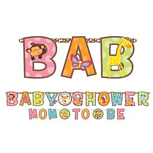 Fisher-Price Baby Shower Banners 2ct