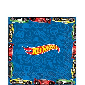 Hot Wheels Lunch Napkins 16ct
