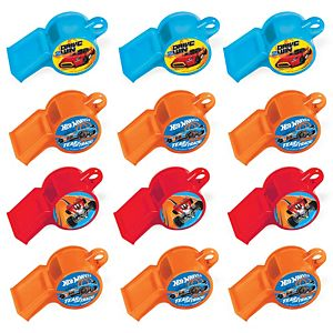 Hot Wheels Whistles 12ct