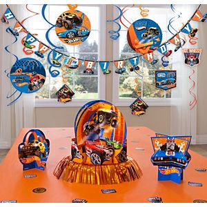 Hot Wheels Decoration Kit