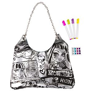 Monster High Color N' Style Purse Activity Kit 17pc