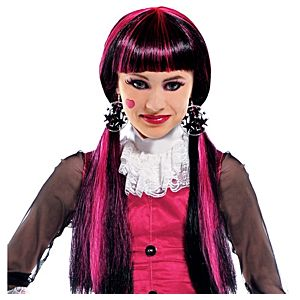 Child Monster High Draculaura Wig