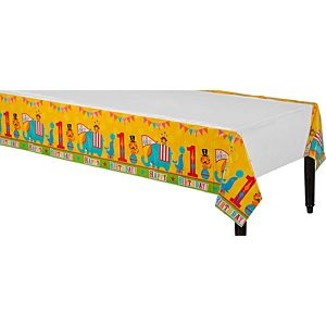 Fisher-Price 1st Birthday Circus Table Cover