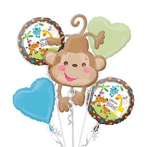 Fisher-Price Baby Shower Balloon Bouquet 5pc
