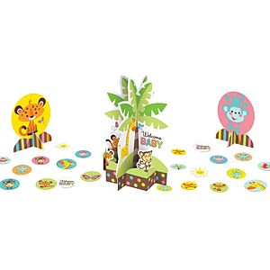 Fisher-Price Jungle Baby Shower Table Decorating Kit 23pc