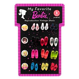 <em>My Favorite</em> Barbie&#174; Reproduction Vintage Shoes
