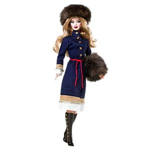 <em>Russia</em> Barbie&#174;&nbsp;Doll