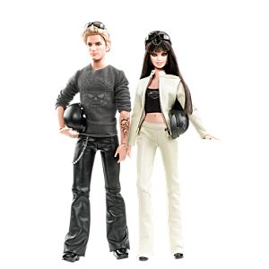 Harley-Davidson® Barbie® And Ken® Giftset