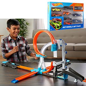 SPECIAL OFFER! Hot Wheels®Track Builder Spectacular Stunts Gift Set