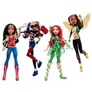 SPECIAL OFFER! DC Super Hero Girls™ 12-Inch Action Doll Gift Set