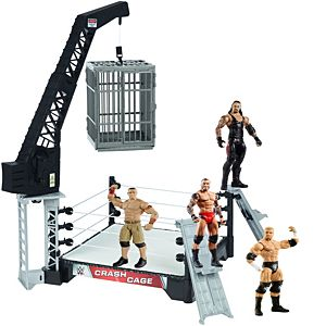 SPECIAL OFFER! WWE® Crash Cage & Superstar Figures Gift Set