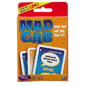 Mad Gab® Picto-Gabs™ Card Game