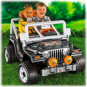 Power Wheels&#174; Tough Talking Jeep<sub>&#174;</sub> Wrangler