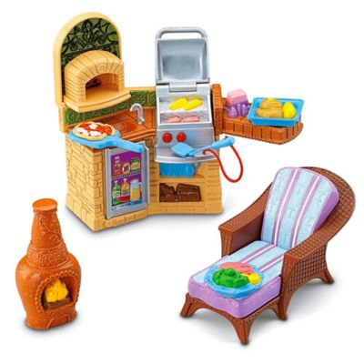 Loving Family  Outdoor Barbeque. Loving Family Toys  Figures   Accessories   Fisher Price