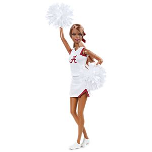<em>University Of Alabama</em> Barbie&#174; Doll (African American)