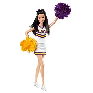 <em>Louisiana State University</em> Barbie&#174; Doll