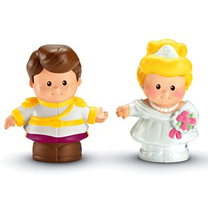 Little People® Disney Cinderella & Prince Charming
