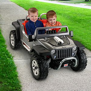 Power Wheels&#174; Jeep<sub>&#174;</sub> Hurricane